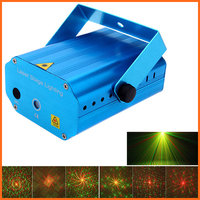 Mini LED Laser Projector Christmas Decorations Laser Disco Light Laser Light Dj Voice Activated DJ Disco