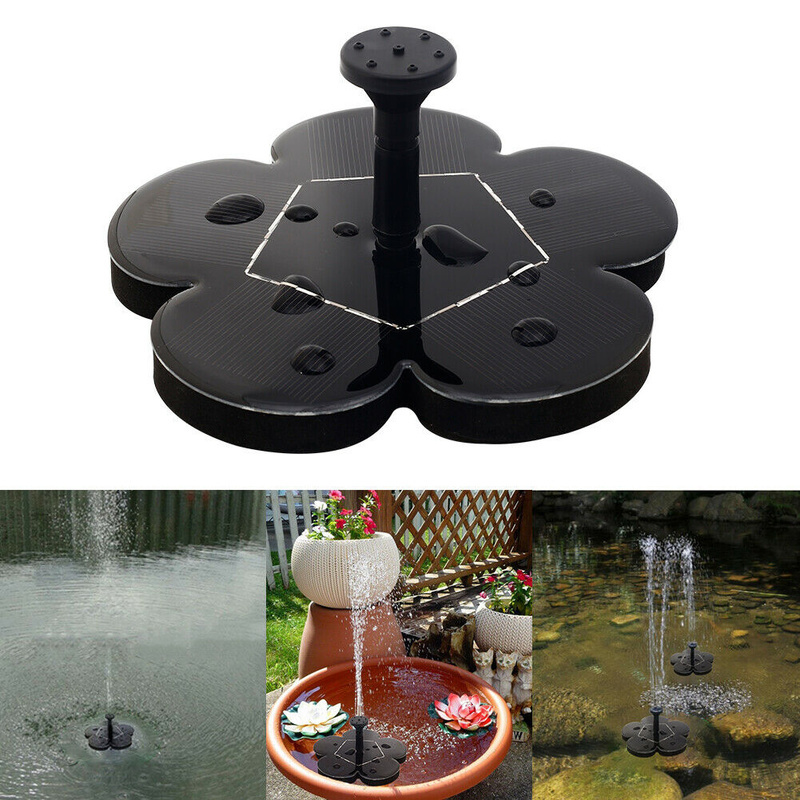 Garden Solar Fountain Solar Water Fountain Pump for Garden Pool Pond Watering Outdoor Solar Panel Pumps Kit Garden DecorationGarden Solar Fountain Solar Water Fountain Pump for Garden Pool Pond Watering Outdoor Solar Panel Pumps Kit Garden Decoration