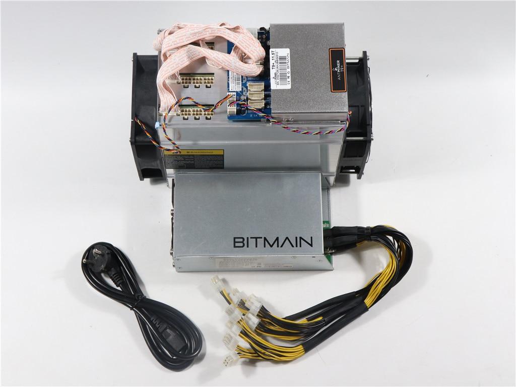 New Antminer T9+ 11.5T Bitcoin BTC BCH Miner Economic Than Antminer S9 S9k S9SE S11 S15 T15 S17 T17 Whasminer M3 4