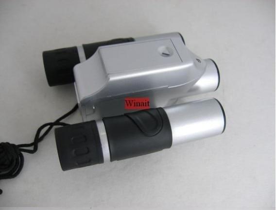Free Shipping 3Mp max Mini Digital Binocular Camera + PC webcam Camera + Digital Video 4in1 DC-T01