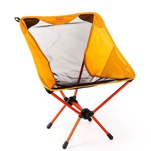 Image 1 - Chaise de lune haute qualité pêche 7075 tabouret léger extérieur Portable pliant Portable meubles chaises de plage chaise de pêche