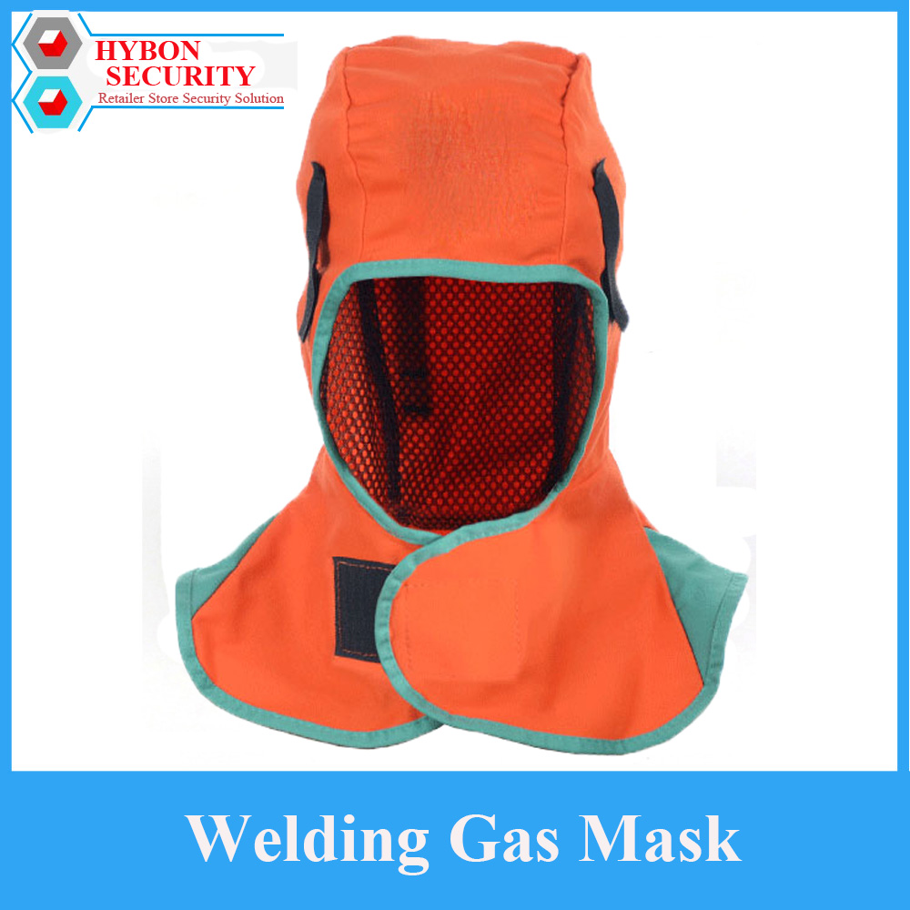 HYBON Welding Gas Mask Safety Industrial Anti-Dust Mask Protective Fire Retardant Safety Face Shield Anti Pollution Mask 3m 1211 10pc1701filter cotton half face gas mask dust anti industrial conatruction dust pollen haze poison family professional
