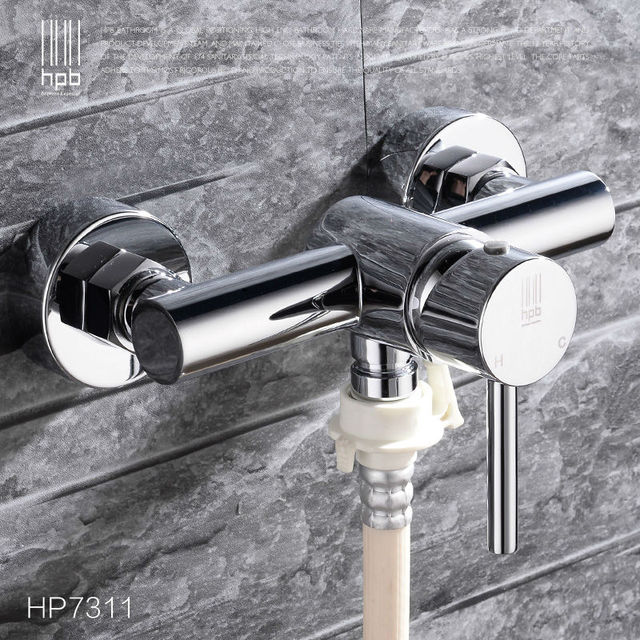 HPB Brass Hot and Cold Water Garden Outdoor Faucets Washing Machine ...