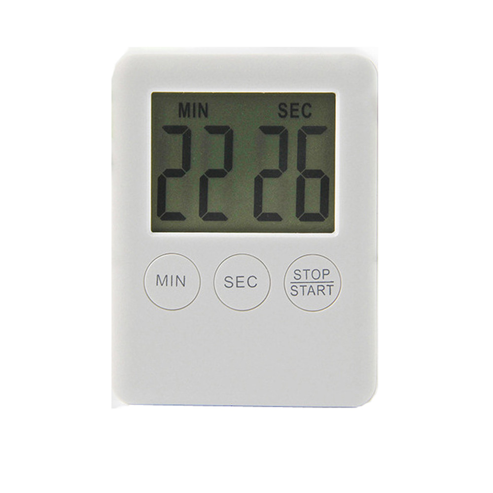Digital kitchen timers LCD stopwatch Reminder Alarm Cooking alarm Clock Loud magnets Count-Down Up second buttons F121