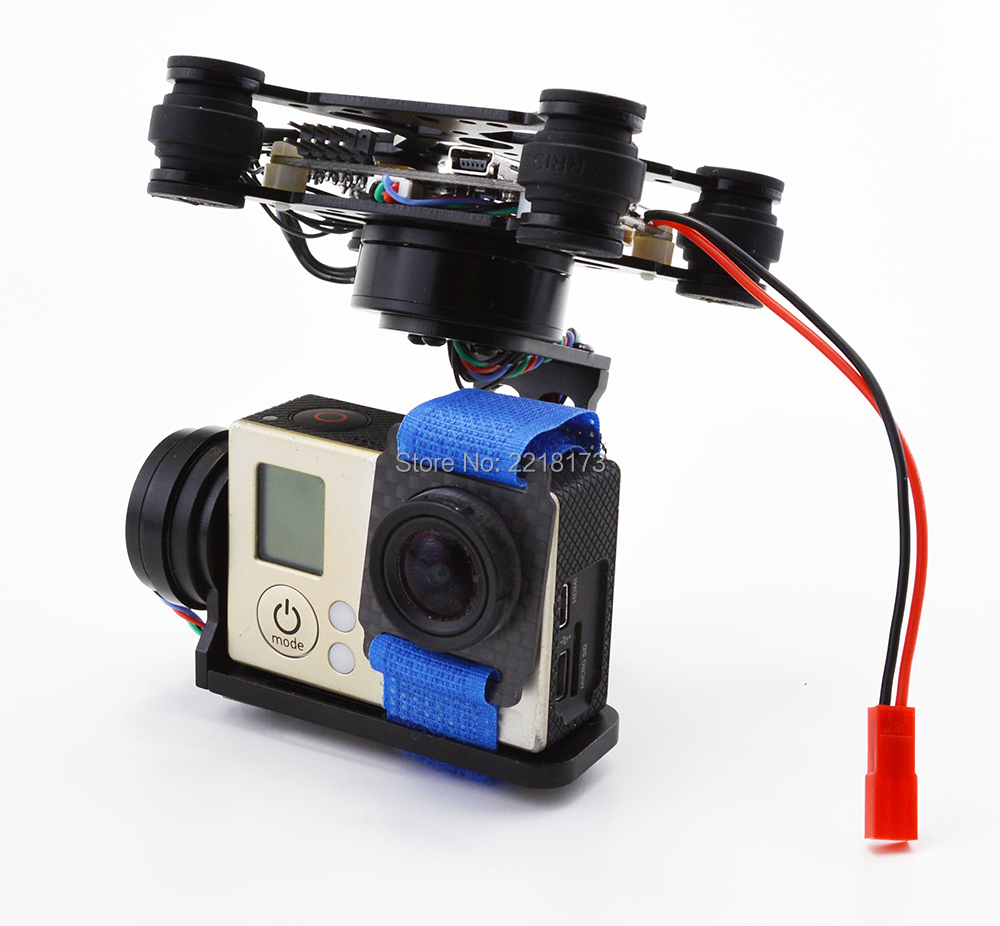 RTF CNC FPV 3 Axis Brushless Gimbal With 2204 2805 Motor & Storm32 Controlller for Walkera X350 Gopro 3 xiaomi xiaoyi camera
