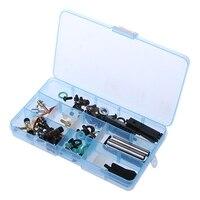 78 قطعة/صندوق الاكسسوارات أجزاء عدة ل آلة الوشم بندقية إصلاح أدوات الصيانة