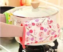 1PC Cute Kitchen Cooking Microwave Oven Mitt Insulated Non-slip Glove Thickening High Temperature Oven Glove LF 135 brand new 2015 ej673812 oven mitt glove