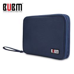 BUBM Universal Electronics Accessories Travel bag / Hard Drive Case / Cable organizer/ Protective Sleeve Pouch Case Bag for iPad
