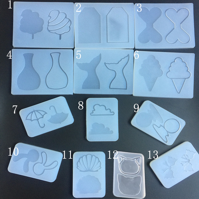 1PC Kinds Of Water Injection Mud Board Silicone Expoxy Mold Resin Jewelry Mold UV Jewelry Accessories Handcraft Jewelry Tool