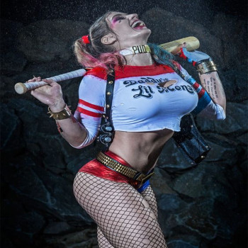 Sexy Harley Quinn Costumes Joker Uniform Suicide Squad DC Marvel Comics Cosplay Halloween Costume Women Outfit Fantasy Costumes buddhist rope bracelet