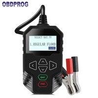 OBDPROG MT300 12V Car Battery Tester 24V Trucks Battery Test Digital Analyzer 2000CCA Support Engine Start