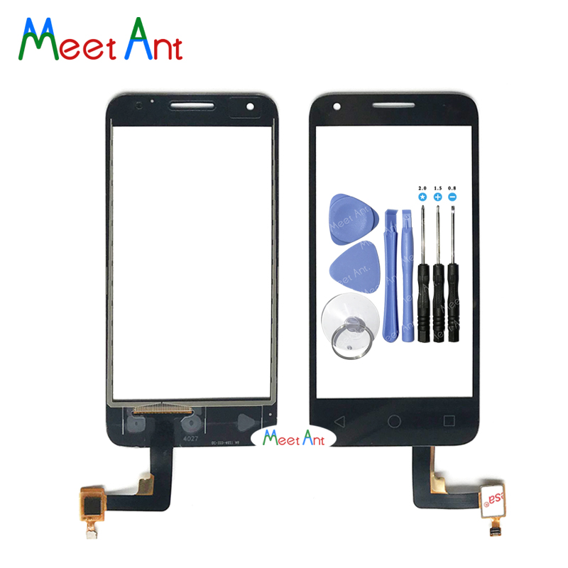 For Alcatel One Touch Pixi 3 4.5 4027D 4027X 5017 OT5017 VF795 OT4027 4027 Touch Screen Digitizer Sensor Outer Glass Lens Panel