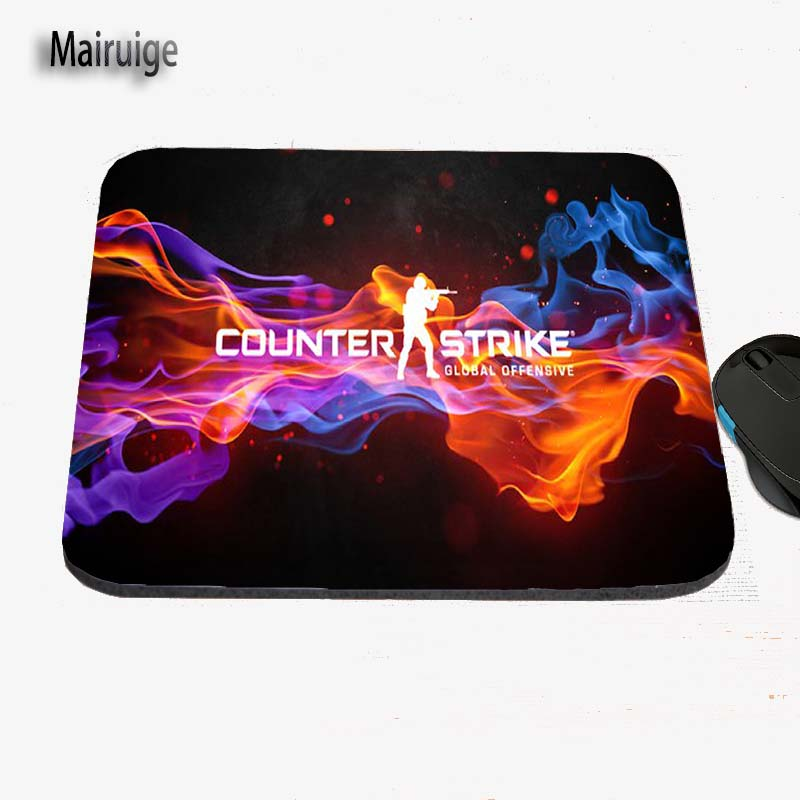Mairuige Color Art Game Character Rubber Mouse Pad Print Custom Antiskid Computer Desk Table Mat, Can Be Used As A Gift