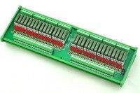 Slim DIN Rail Mount DC5V Source PNP 32 SPST NO 5A Power Relay Module PA1a 5V