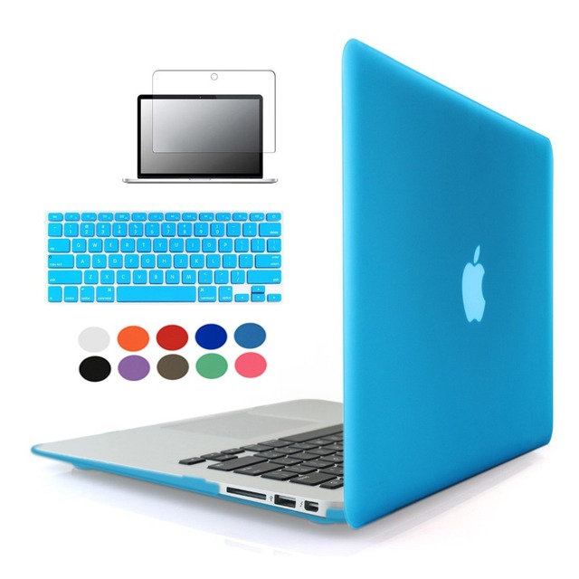 Laptop Sleeve Case For Macbook air 11/ 13 Pro 13 /15 Pro Retina 12 13 Crystal PC Hard Notebook Bag Cover For Macbook pro Case