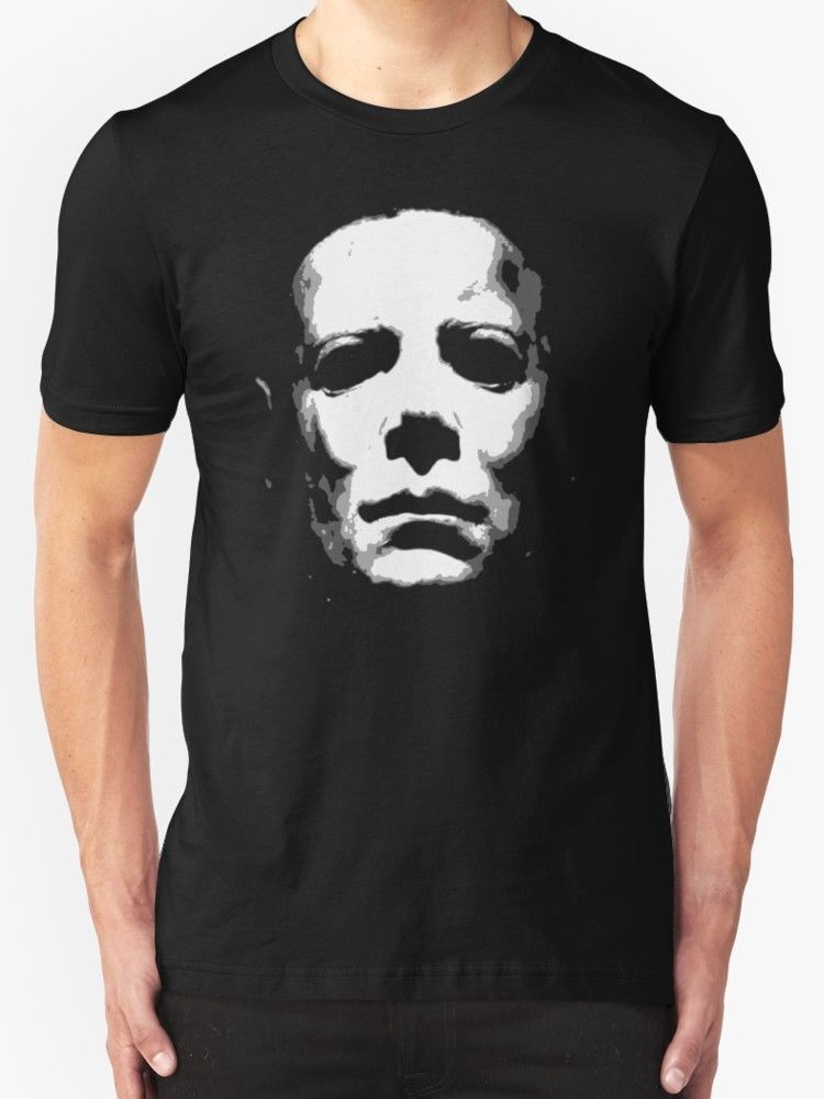HALLOWEEN T SHIRT MICHAEL MYERS HORROR MOVIE FILM CULT CLASSIC RETRO Summer T-Shirts for Men Round Neck Clothes