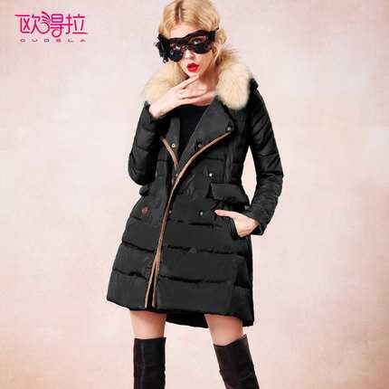 Hot Sale 2016 Women Fur Collar Cotton Padded Parkas Fashion Winter Coat Women Slim Long Wadded Overcoat Jacket Plus Size H6948 wmwmnu women winter long parkas hooded slim jacket fashion women warm fur collar coat cotton padded female overcoat plus size