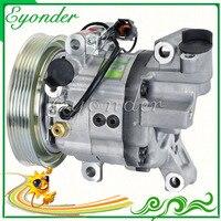 DKV11G A/C AC кондиционер компрессор Охлаждения Насос PV6 для Nissan Pulsar N16 1,6 II Q 1.8L ручной бензина с датчиком скорости