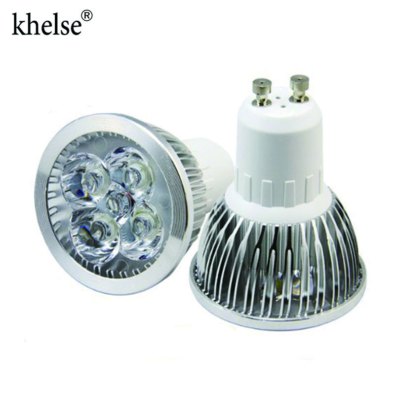 4w Dimmable Gu10 Led Light Bulbs Recessed Lighting Replacement For 20 Watt 50mm 110v 220v Spotlight Lamp Bulb White
