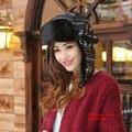 Зимние шапки для женщин бомбардировщик шляпа меховая шапка с ушами Cap с уха флаги россии Hat Gorras Chapeu снежными шапками наушник 2 цвет