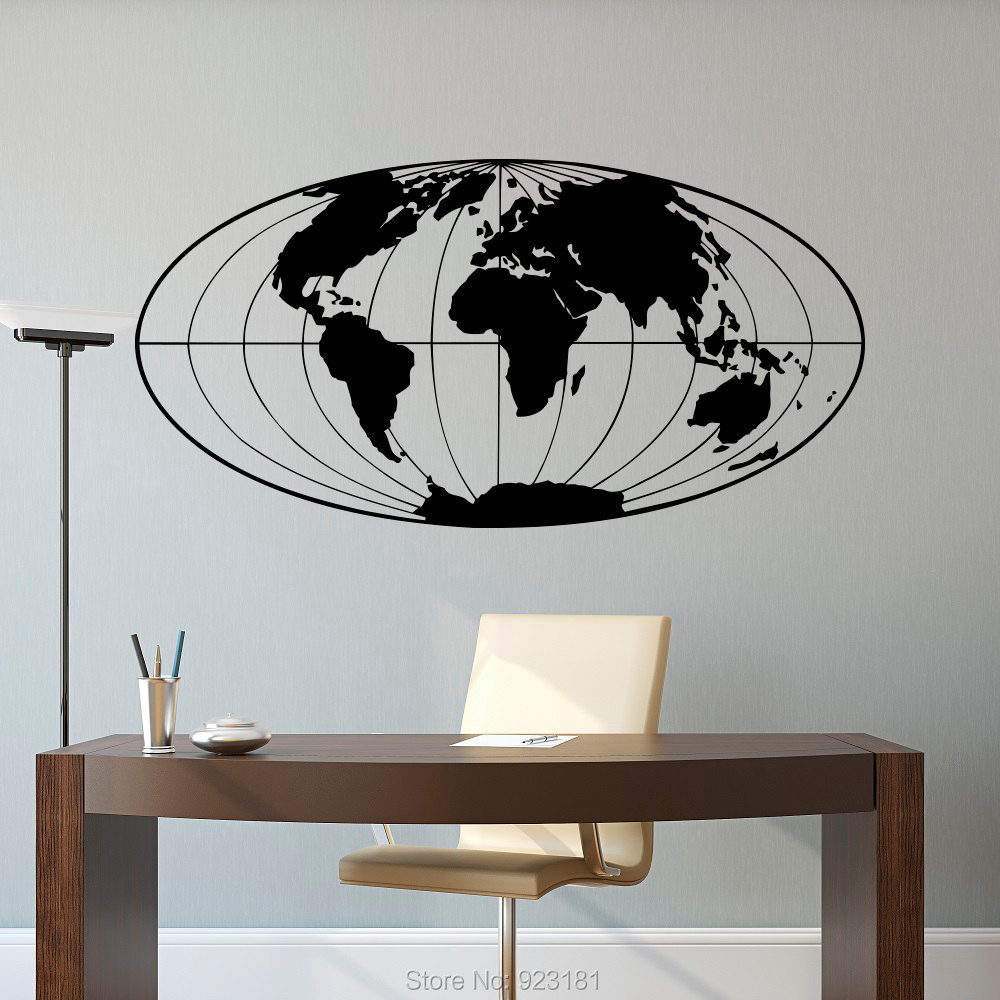Compare Prices on Globe Wall Decals- Online Shopping/Buy Low Price ...