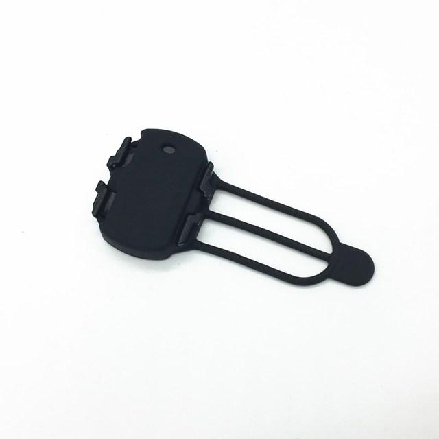 Funda protectora de piel de Gel de bicicleta para Sensor de cadencia Garmin, Bryton, Sensor de ordenador Magen cubierta negra 1 pc