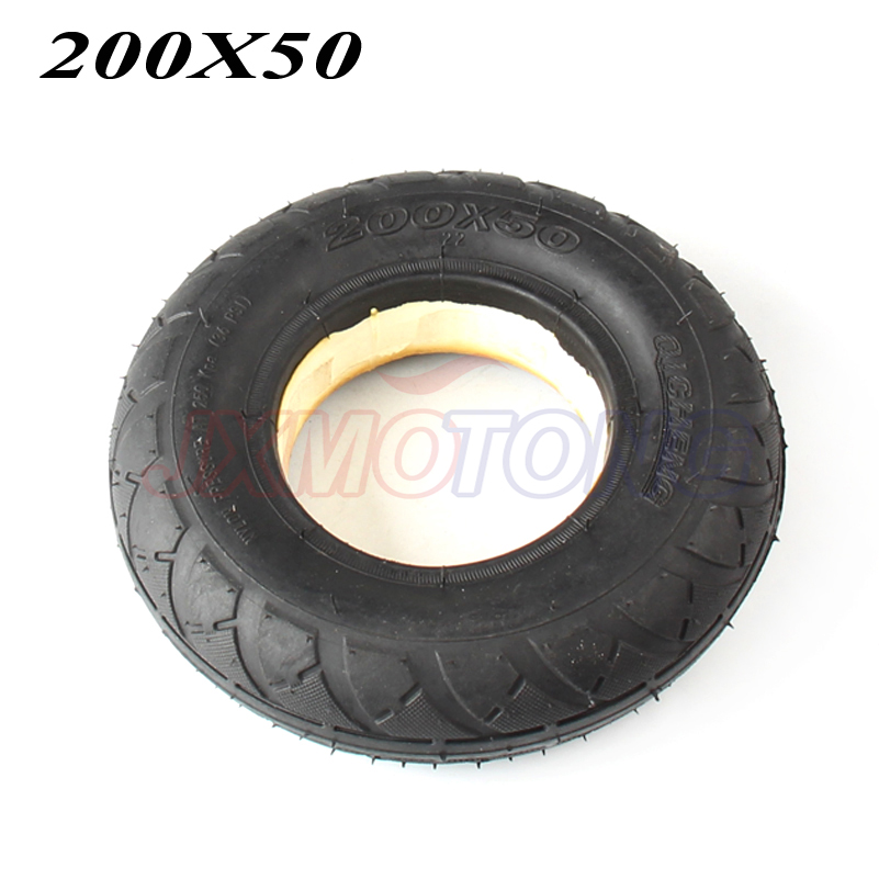 200 x 50 (8x2) tyre Foam Filled Scooter Tire for electric scooters