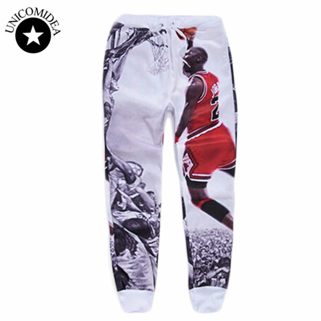 f1523fa32c4db0 2019 Jordan Galaxy Skull Space Casual Joggers Pants 3d Printed Sweatpants  For Men Women Full Length Trousers Workout Sweat Pants