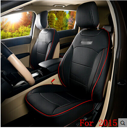 Special Seat Covers For Ford Edge 5seats 2017 Durable Breathable Leather Car Free Shipping In Automobiles From