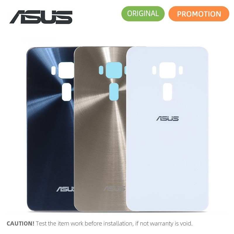 100% ORIGINAL Rear Back Housing For ASUS ZenFone 3 ZE552KL Back Cover Battery Door with Adhesive Replacement Parts(China)