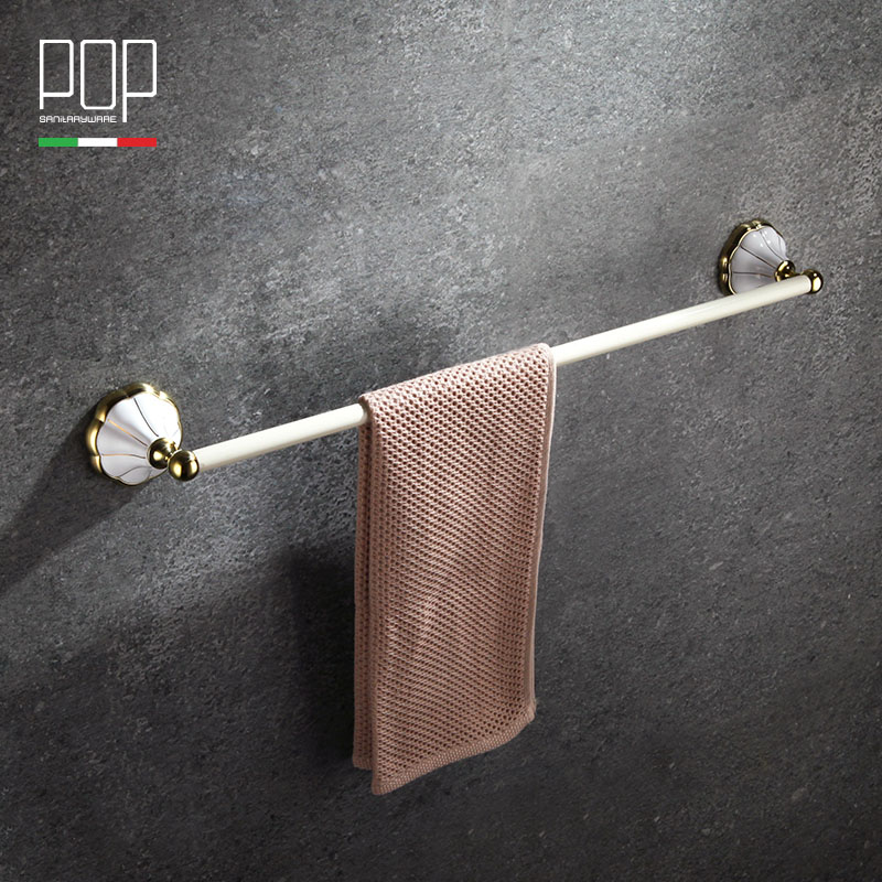 Free Shipping (24,60cm) single / double Towel Bar/Towel Holder  Chrome Finish, Bathroom hardware, Bathroom accessories