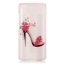 AiYvZ New Cute Patterned TPU Soft Transparent Back Cover on mobile Phone Cases for Xiaomi Mi 5s Clear Case usa Russia UA BY uk(China)