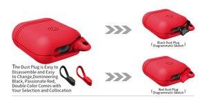 Image 3 - Waterdichte Oortelefoon Case Voor Airpods Shockproof Beschermhoes Headset Gevallen Voor Airpods Case Leuke Fluorescentie Tpu Siliconen