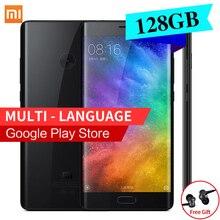 Оригинал xiaomi mi note 2 премьер глобальный версия 6 ГБ оперативной памяти 128 ГБ ROM Мобильный Телефон Dual 3D Стекла Snapdragon 821 5.7 «4 К Видео 22.56MP