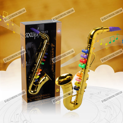 цена на kids Mini Musical Instrument toy props ,baby music toys, Toy saxphone Child Gift