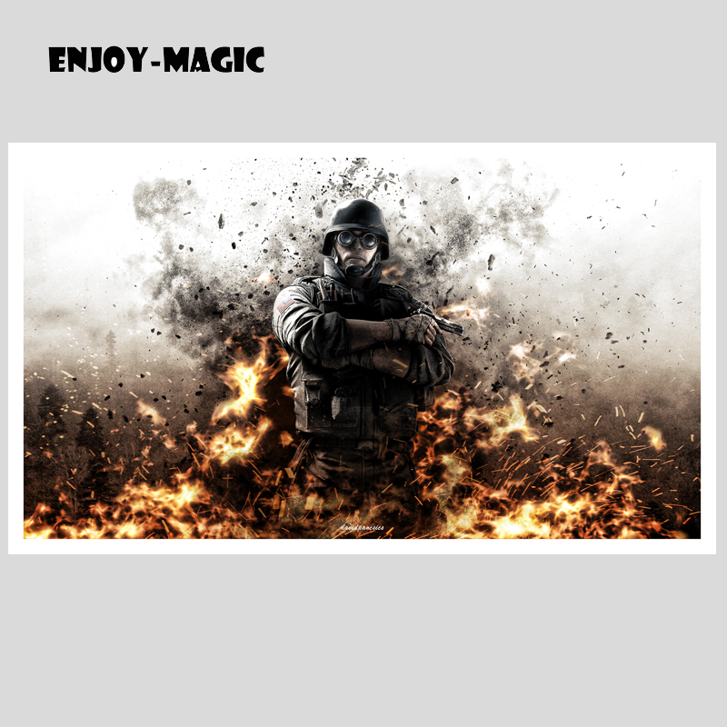 Rainbow Six Siege Poster for Canvas Art Home Decor Painting Print Games Wall Picture