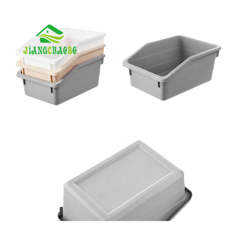 Cestas de Armazenamento de Plástico de Mesa JiangChaoBo Cozinha Banheiro Cosméticos Caixas De Armazenamento de Cestos de Armazenamento Lanches