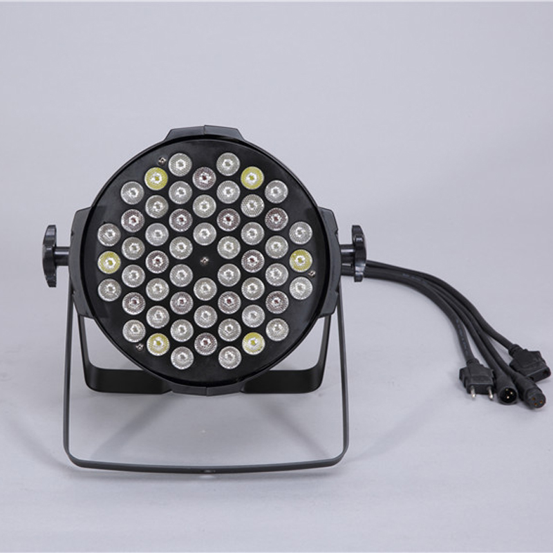 4pcs/lot china supplier indoor 54PCS*3w led par can light 8dmx channel for night club