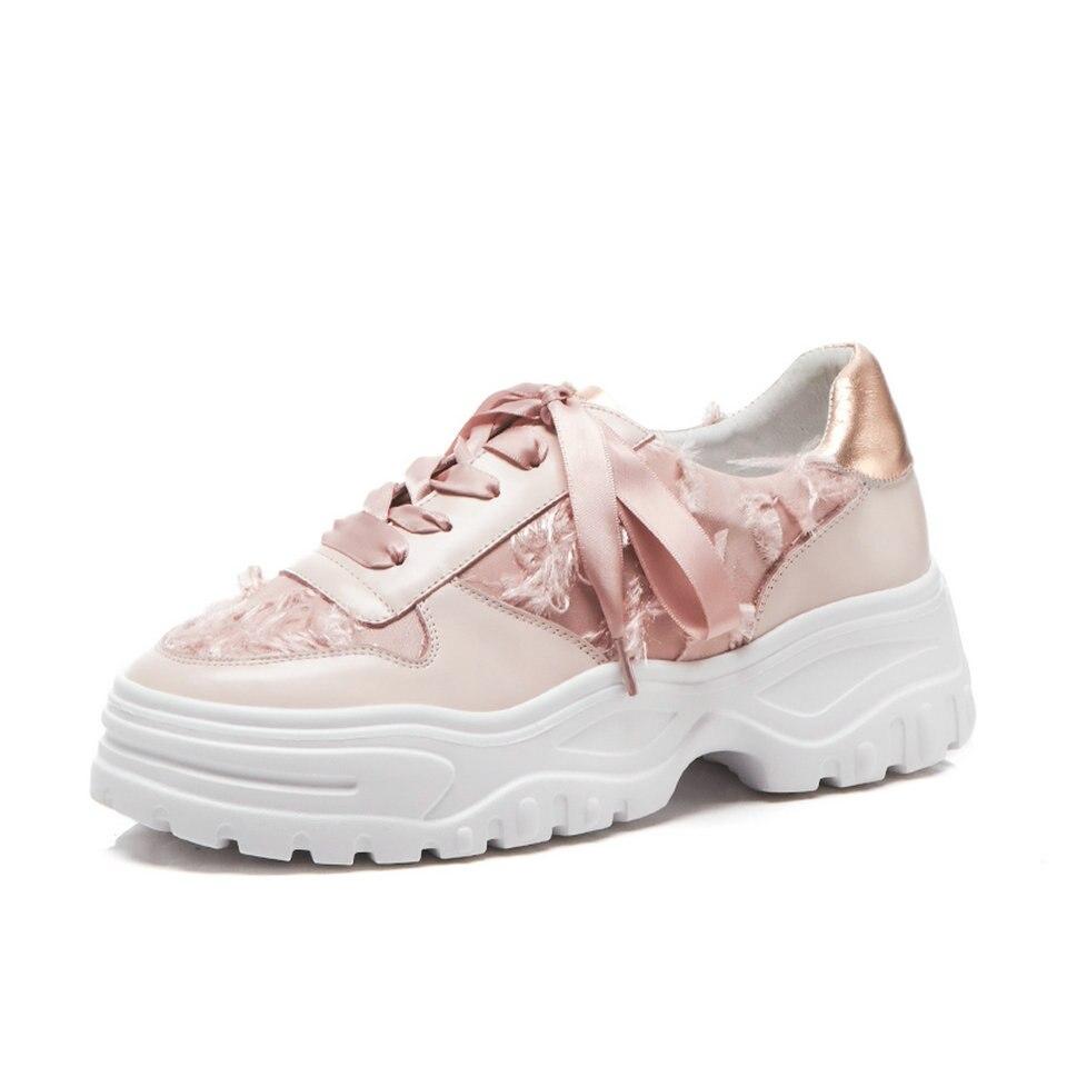 32108936a464fd Haut En Eshtonshero Lacent Chaussures forme 3 Femmes rose Plate Bout Taille  Pu Talon 2019 Rond De Cuir Noir ...