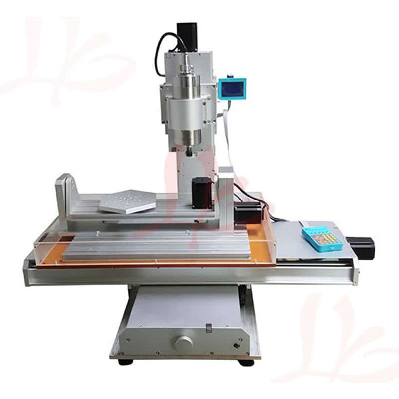 1500W / 2200W spindle 5 axis cnc router 3040 engraving machine, ball screw Table Column Type woodworking milling machine new arrival 5 axis cnc machine pillar cnc 3040 engraving machine ball screw table column type woodworking cnc router lathe