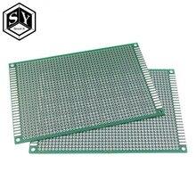 5 шт. 8x12 см 80x120 мм двухсторонний Прототип PCB универсальная печатная плата для Arduino