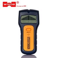 Detectores de metais ts79 3 em 1 whdz  qualidade ts79 detectores de metais encontrar metais de madeira com fecho de tensão ac detectar parede do scanner traseiro