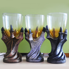 Gothic Game of Thrones 3D Dragon Claw Mug Big Vodka Whiskey Shot Glass Cup Skull Wine Goblet Beer Cup Halloween Christmas Gifts