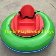 Amusement park kids ride infla
