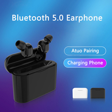 цены TWS Wireless Headphones Bluetooth Earphone Noise Canceling Headphone HiFi Bluetooth Headset Stereo Earbuds