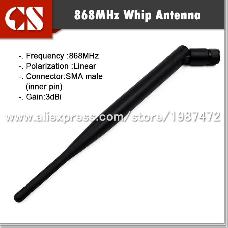 imágenes para 868 MHz whip antena inalámbrica, Solución RF antena SMA Macho 1 unids