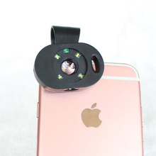 HD 120X Microscope Optical Camera Phone Lens for iPhone 6S 7 with Rechargeable LED Flash Light Clinic Skin inspect Free Shipping