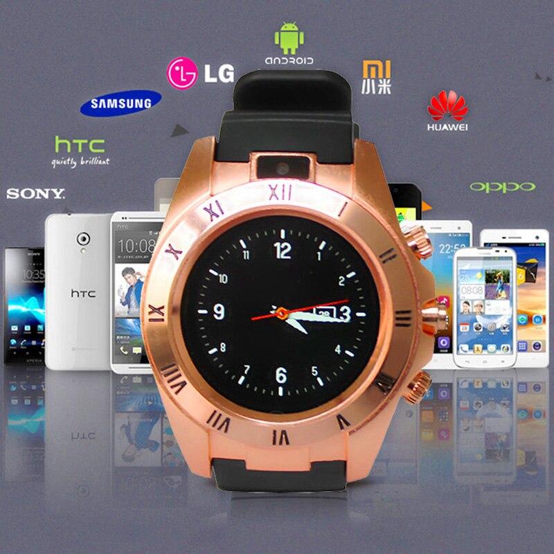Nueva llegada de 1.54 pulgadas smart watch hombres reloj de la manera desgaste a
