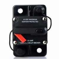 50A 60A 80A 100A 150A 200A 250A 300A ampères voiture Auto Audio bateau marin disjoncteur Audio DC 12 V/24 V/42 V