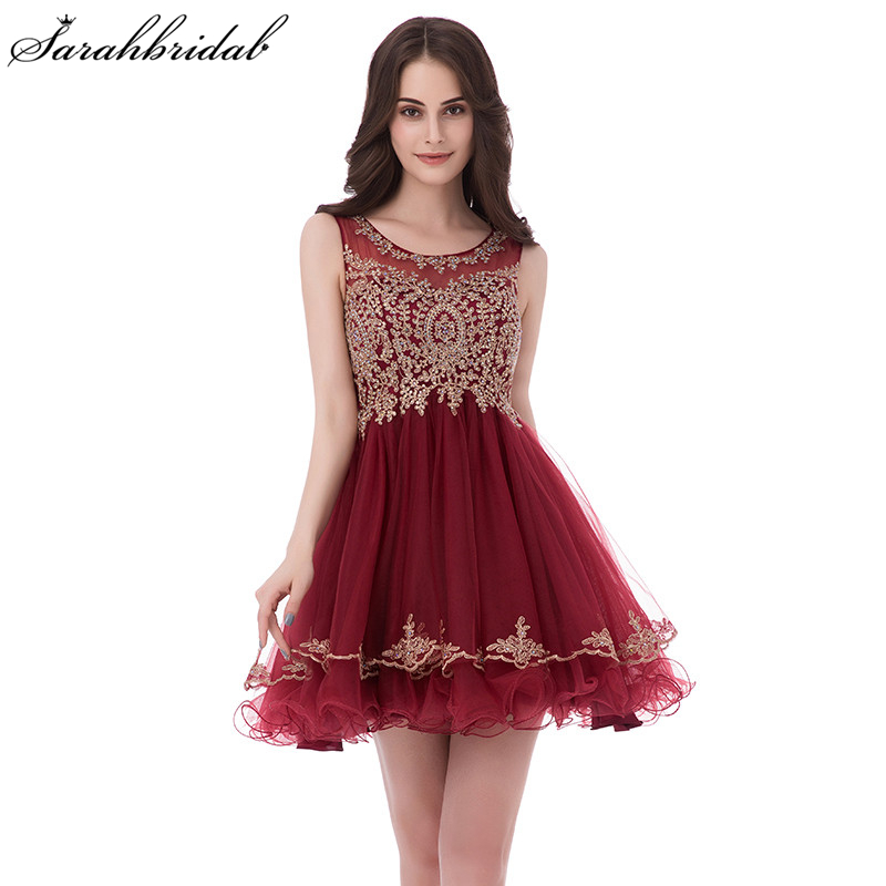 Charming Ever Pretty Short Prom Dresses With Jewel Sleeveless Tulle Beading  Zipper Homecoming Dress Party Dresses 40262491098f
